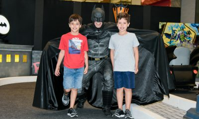 Parque do Batman movimenta férias do Shopping Uberaba