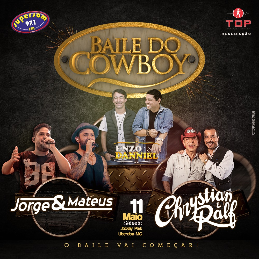 Baile do Cowboy com megaestrutura encerra temporada country