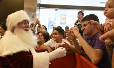 Papai Noel do Shopping Uberaba chega sábado