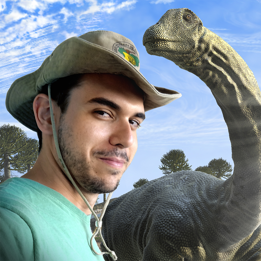 Dinossauros movimentam férias do Shopping Uberaba
