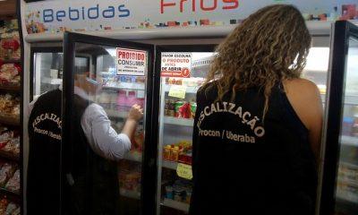 Blitz natalina apreende mais de 200 produtos impróprios para o consumo em uma semana