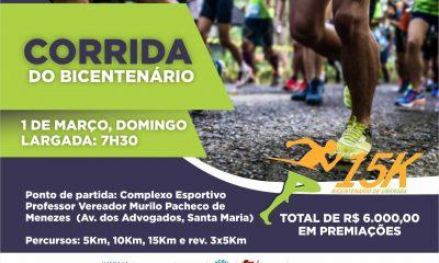Funel celebra bicentenário com corrida