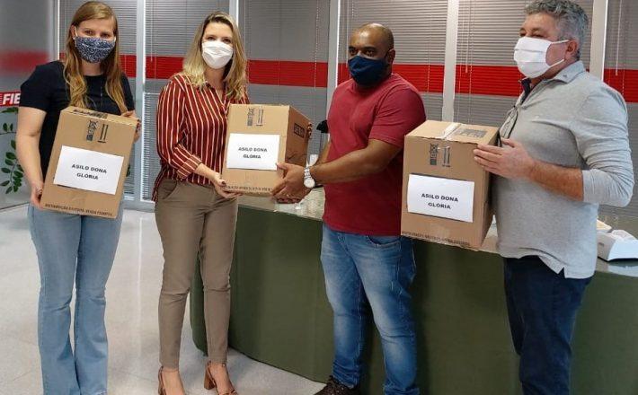 Lar Dona Inês e São Vicente recebem duas mil máscaras da Fiemg Vale do Rio Grande