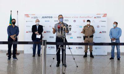 Romeu Zema determina abertura do Hospital de Campanha em Belo Horizonte