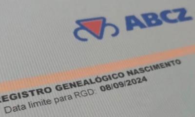 Após pedido da ABCZ, MAPA prorroga validade de Registro Genealógico de Nascimento