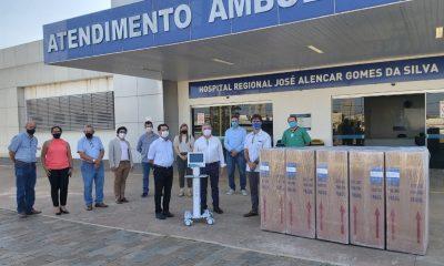 Fiemg doa 10 respiradores para Hospital Regional José de Alencar