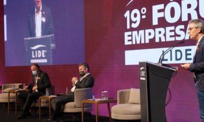 Romeu Zema destaca trabalho de Minas na atração de investimentos durante Fórum Empresarial Lide