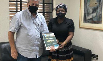 Embaixadora da República da Zâmbia no Brasil visita Uberaba e vê oportunidades de negócios