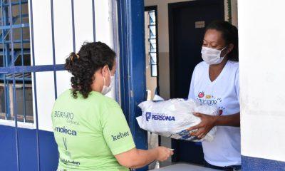 Uberaba inicia doação de cestas básicas para famílias em vulnerabilidade social