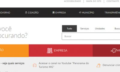 Canais de atendimento eletrônico do Governo de Minas registram aumento de acessos em 2020