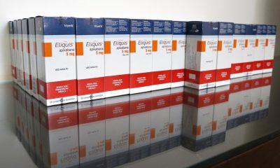 Prefeitura de Uberaba recebe doação de medicamentos para tratamento da Covid-19