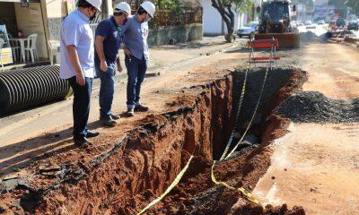 Codau intensifica execução de obras de drenagem pluvial necessárias há vários anos