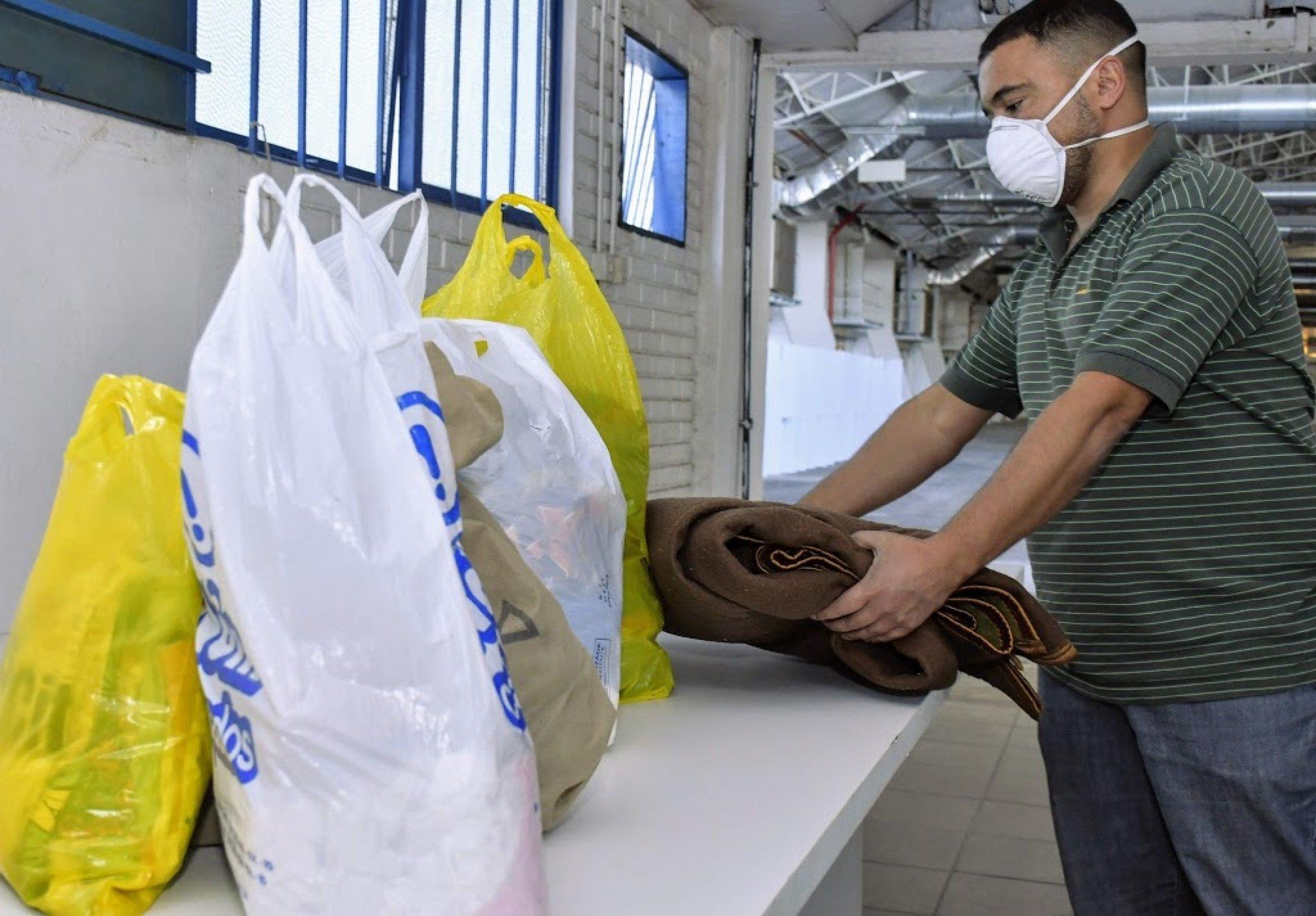 Governo Municipal apoia campanha de arrecadação de agasalhos e alimentos