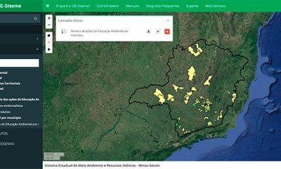 Plataforma de georreferenciamento agrega dados de educação ambiental