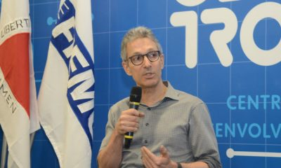 Romeu Zema participa da inauguração do Centro de Treinamento e Desenvolvimento da Indústria 4.0, em Contagem