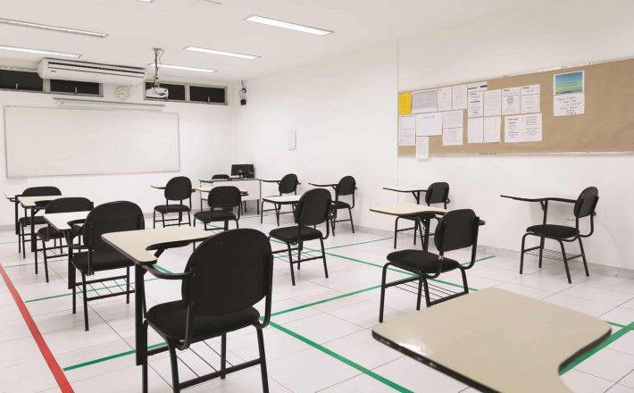 Mais turmas retornam às escolas estaduais na próxima segunda-feira (23/8)