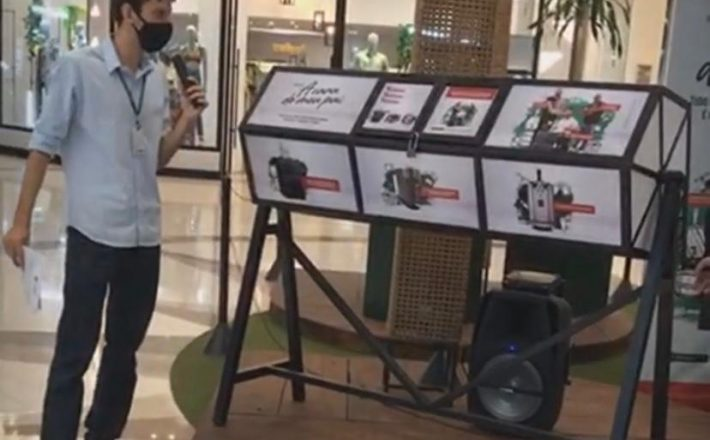 Shopping Uberaba faz primeiro sorteio da campanha Pais