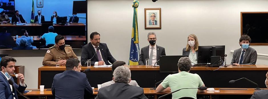 Em Brasília, governador Romeu Zema se reúne com a bancada mineira e apresenta Portfólio de Projetos 2022
