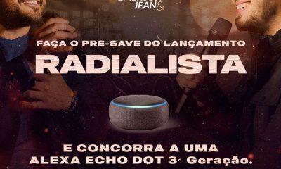 """Dia 17/09 vamos lançar o nosso novo single """"Radialista""""!"""