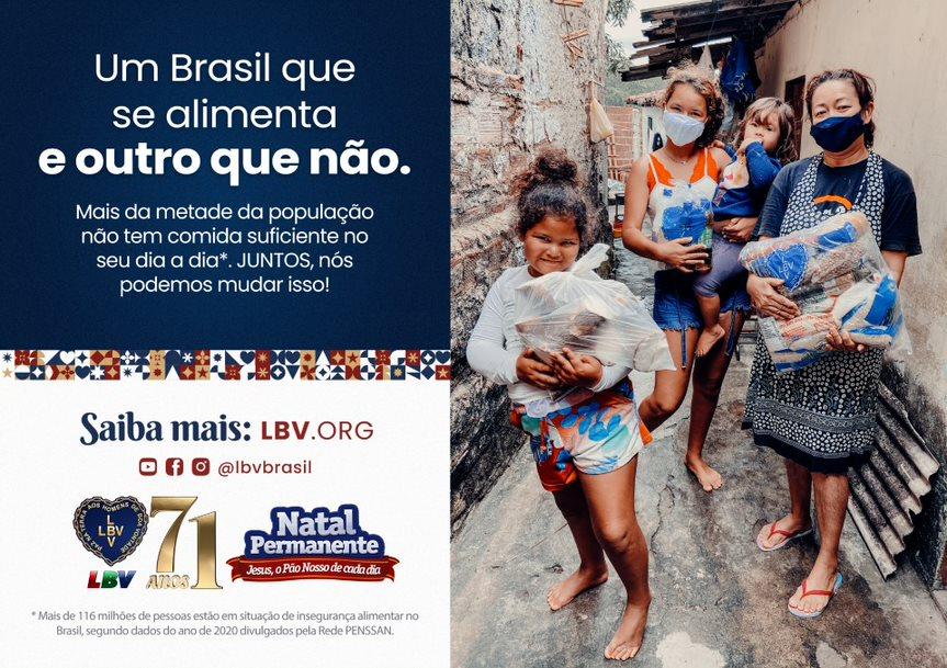 """""""Um Brasil que se alimenta e outro que não"""""""