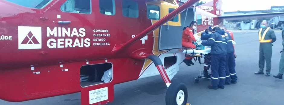 Estado do Rio agradece por atendimento de aeronave de Minas Gerais a bebê de seis meses