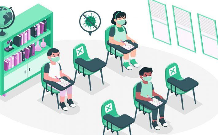 Estado aprova novo protocolo de retorno às atividades escolares presenciais