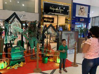 Shopping Uberaba em clima de halloween