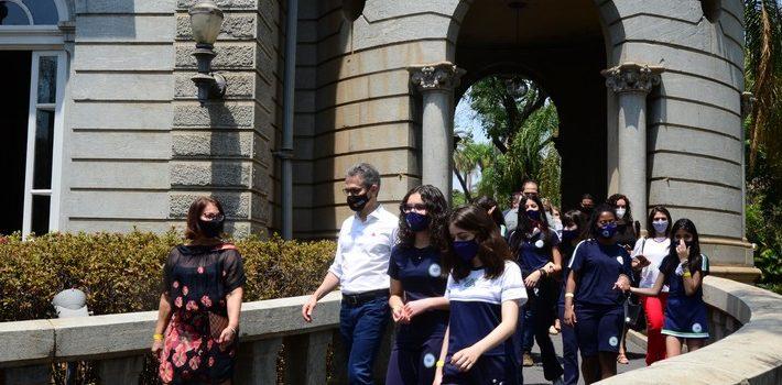 Governo do Estado reabre Palácio da Liberdade para visitação e apresenta ações para impulsionar o Circuito Liberdade
